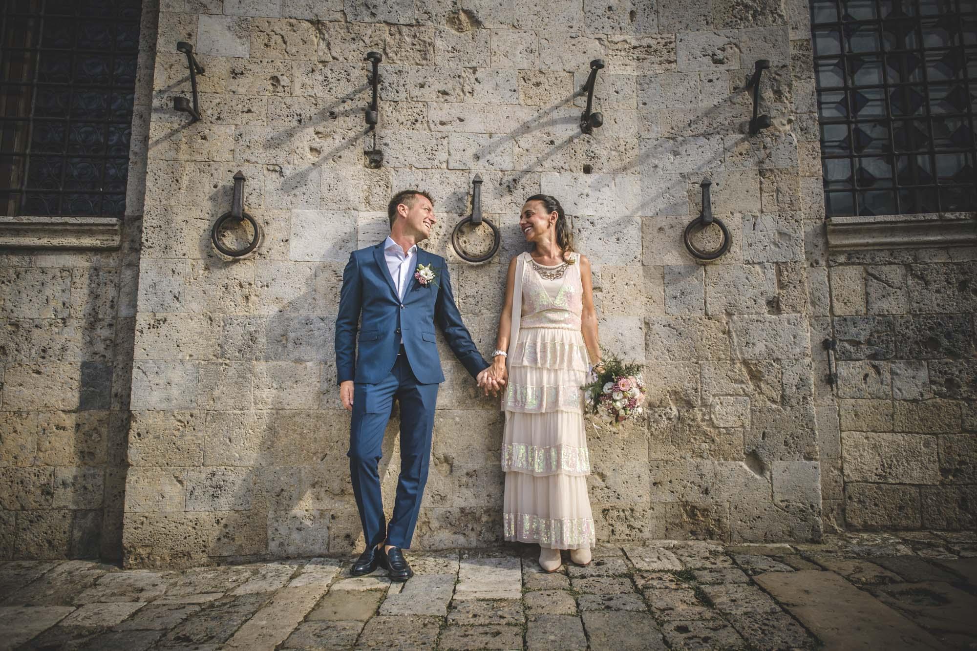 Lucia & Iacopo - Intimissimo Matrimonio a Siena, 26/5/2018