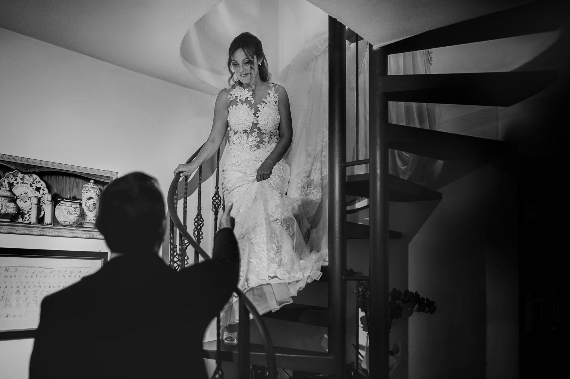 Il padre della sposa: Fotografia di un attimo perfetto